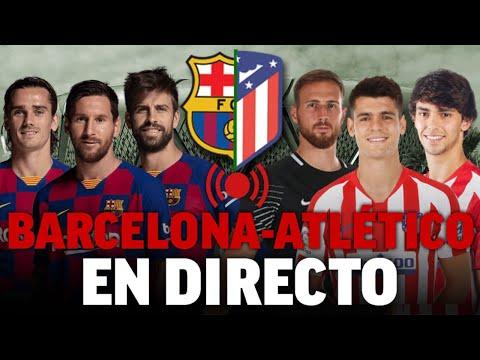 Barcelona - Atlético De Madrid, Supercopa De España 2020 I EN DIRECTO - Radio MARCA - ÚLTIMA HORA