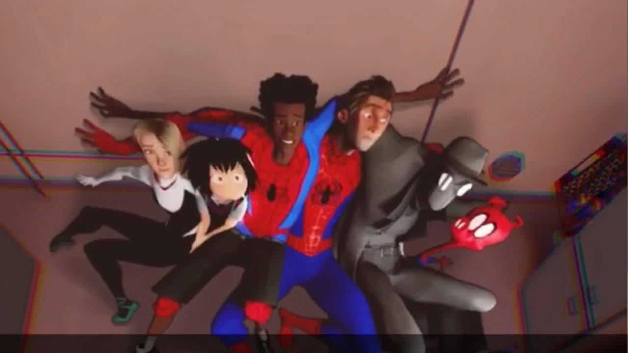 El cuarto de Mile Morales - Filtró de Snapchat Spider-Man un nuevo universo