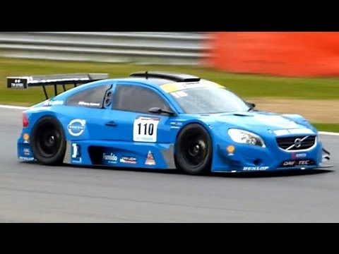 Volvo S60 V8 Racecar Onboard Fly By And Sounds Youtube