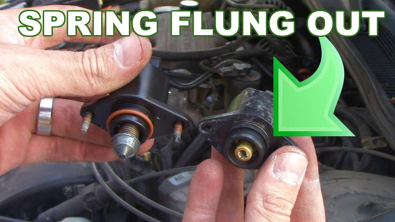 How To Replace The Idle Air Control Valve Youtube Yamaha Outboard Fuel Sender Wiring