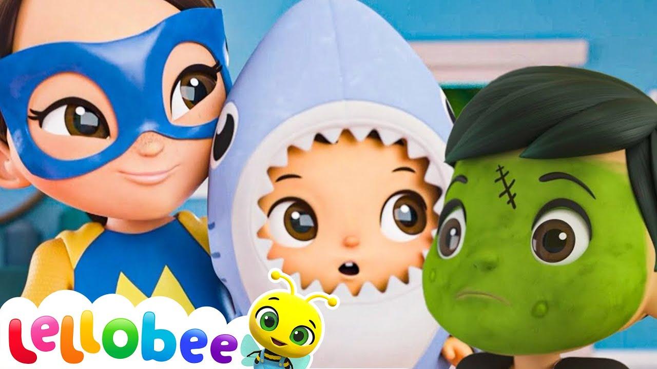 Baby Shark Dance - Halloween | Nursery Rhymes & Kids Songs - ABCs and 123s | Little Baby Bum
