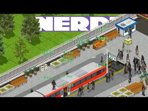 Nerd³ Builds A Train Station - Train Station Simulator - 15 Mar 2018