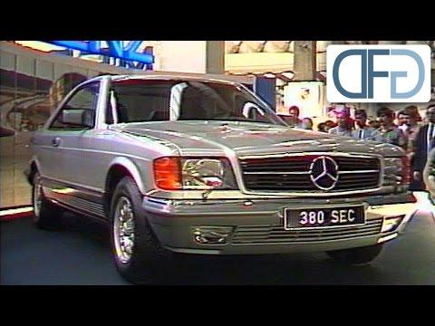 IAA 1981 - Mercedes 500 SEC | BMW 735i | Porsche 944 | Toyota Celica Supra GT