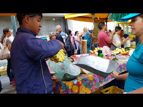 STREET MARKET CARACAS VENEZUELA 2018