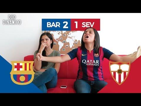¡PAQUITO ALCÁCER! REACCIÓN AL BARCELONA VS SEVILLA (2-1) | Dúo Dinámico