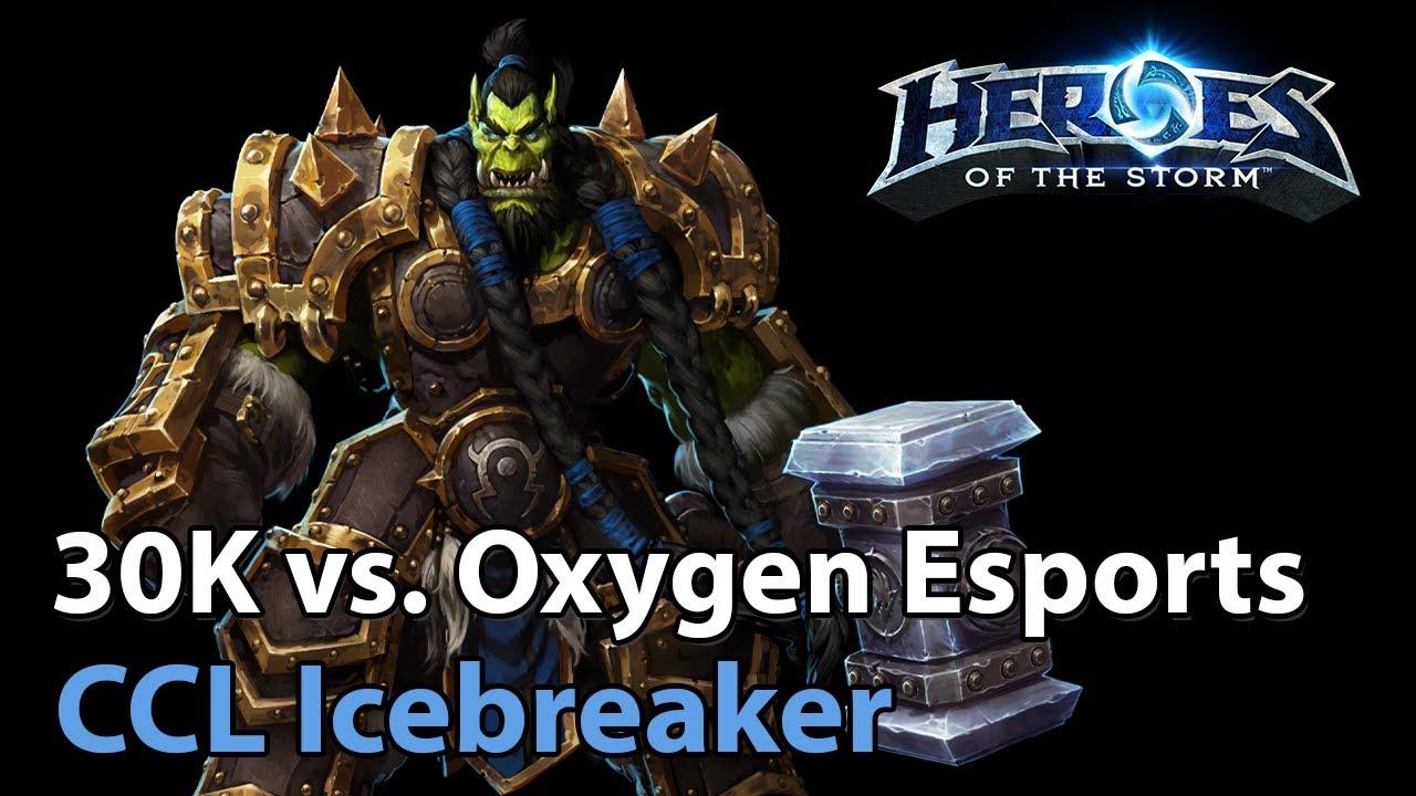 ► 30K vs. Oxygen Esports - Icebreaker Cup - Heroes of the Storm Esports