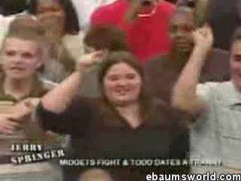 You tube midget fight jerry springer