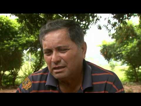 Paraguay's poor struggle for land