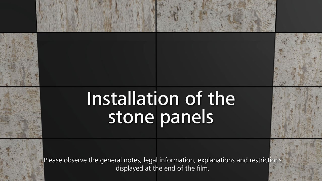 Stoventec Curtain Walls How To Install Stone Cladding