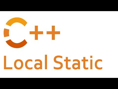 Local Static in C++