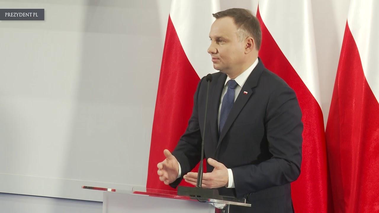 Wizyta Pary Prezydenckiej w Instytucie Centrum Zdrowia Matki Polki w Łodzi
