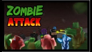 ROBLOX   Zombie Attack - First ROBLOX Gameplay!!