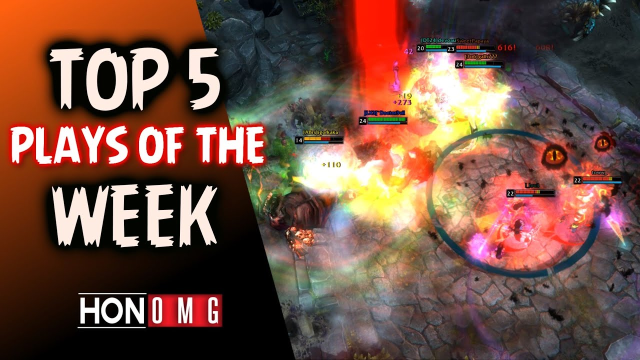 HoN Top 5 Plays of The Week + Heroes of None Sense Remastered (2020)