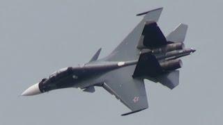 MAKS 2015 Su-30SM Russian NAVY