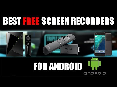 🔴 BEST TWO FREE SCREEN RECORDERS FOR ANDROID 2018 ! LIVE STREAM TO TWITCH, YOUTUBE, FACEBOOK