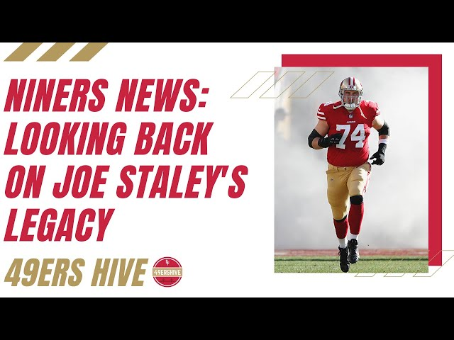 Niners News: How Will Joe Staley's Legacy be Remembered?