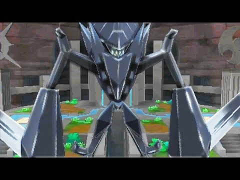 Necrozma Attacks Alola Cutscene - Pokémon Ultra Sun and Moon