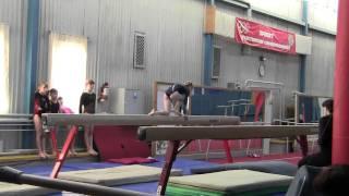 Спортивная гимнастика... Бревно...Есения Фролова