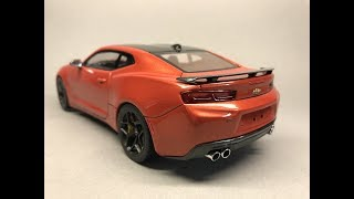 AMT: Chevrolet Camaro SS 2016 Full Build Video Step by Step