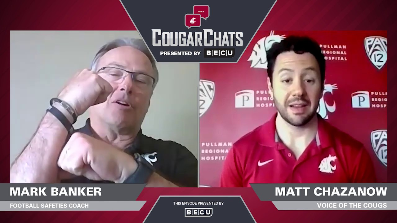 Image for WSU Athletics: Cougar Chats with Coach Mark Banker webinar