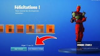 "EPIC GAMES YOU OFFER ""22 SKINS"" BY ERROR ON FORTNITE! 😱"