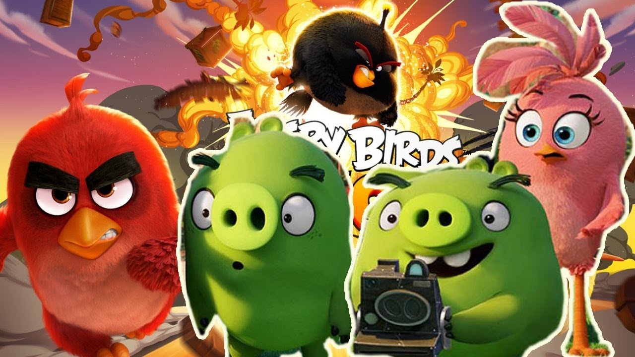 ANGRY BIRDS gameplay part 4 - let's play angry birds with GERTIT
