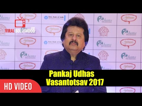 Pankaj Udhas Interview | Vasantotsav 2017 | Viralbollywood