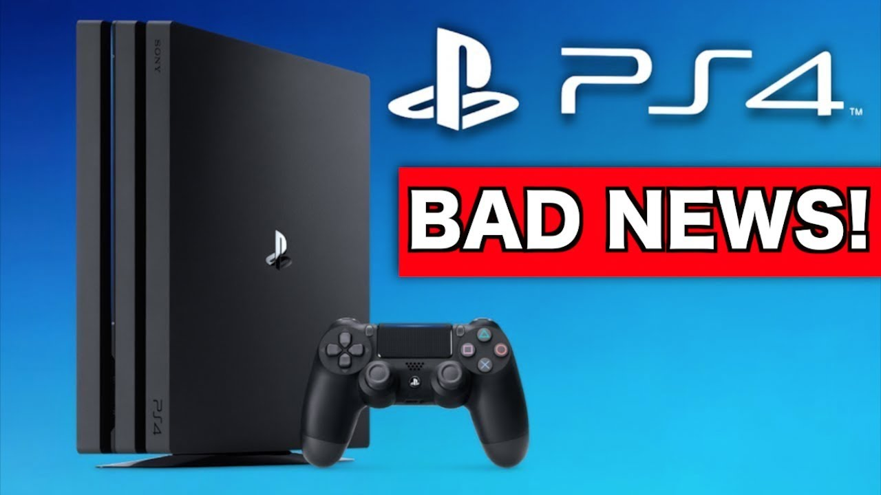 BAD NEWS for PS4 going into 2019... (Gaming News)