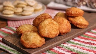 Ricotta Pizzette (Italian Street Food - Fried Pizzas) | Ep. 1313