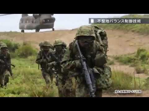 Испытания боевого экзоскелета в Японии