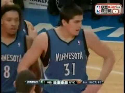 Darko Milicic @ Knicks (2010-11 NBA regular season)