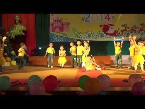 Nhảy cùng gấu Gummy (4A) - Mầm Non Đại Học Vinh