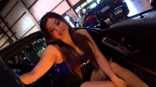 Repeat youtube video HOT ASIAN MODELS AT CAR SHOW SEXY!