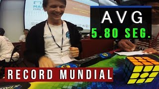 Rubik World Record 2017 AVG 5.80