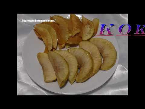 Gebakken Broodvrucht & Broodvrucht chips