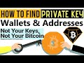 How To Find Private Key Of Bitcoin Daimond Wallet  Bitcoin Key