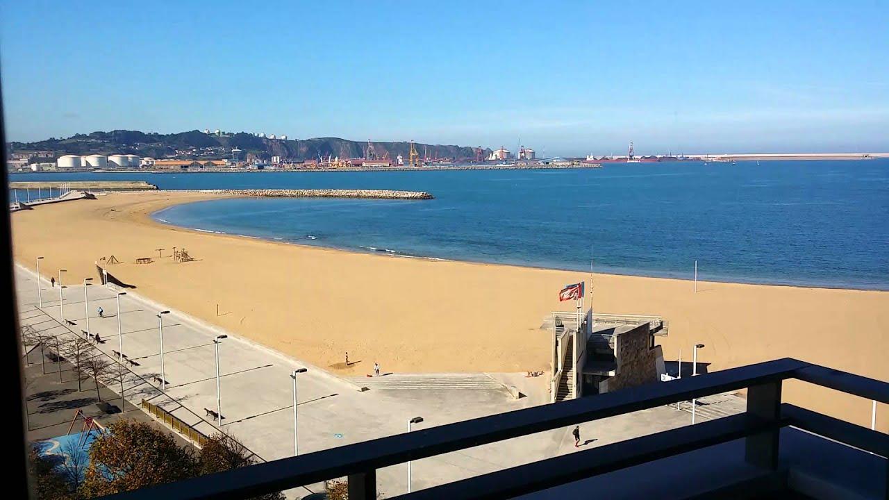 Piso con vistas al mar en gijon youtube for Pisos con vistas al mar