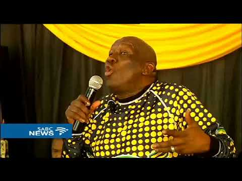 Bheki Cele address party members in Vhembe region, Limpopo