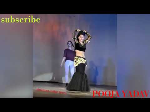 Indian Girl Hot Belly Dance in DDU ।।POOJA YADAV