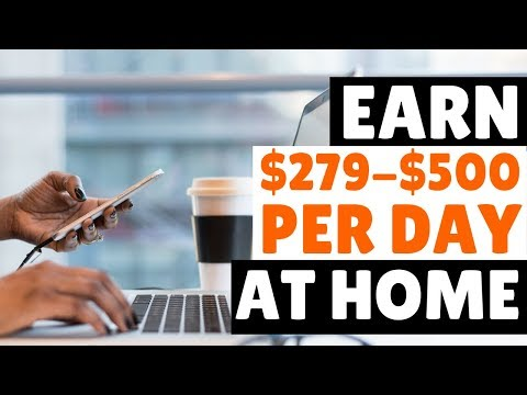 3 Legit High Paying Online Jobs at $279-$500 per Day 2019