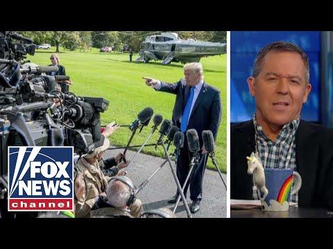 Gutfeld on the words media use to describe Trump