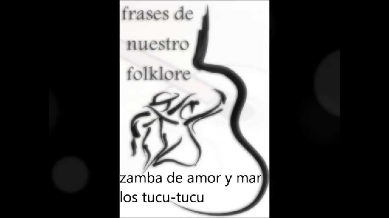 selecci³n de zambas frases de nuestro folklore
