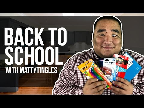 [ASMR] Back to School RP | MattyTingles