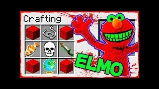 Mango Tango Minecraft - How to Summon ELMO in a CRAFTING TABLE