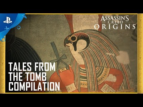 Assassin's Creed Origins - Tales From The Tomb Compilation | PS4