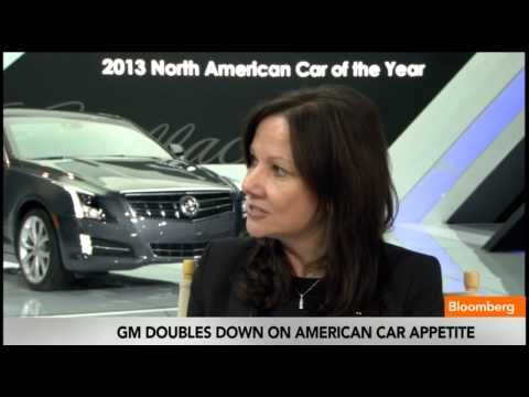 GM s Mary Barra on Cadillac ATS, Luxury Car Market