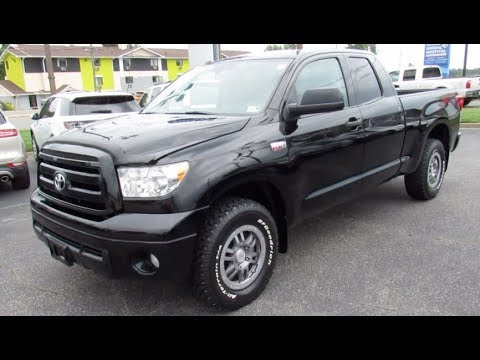 2013 Toyota Tundra TRD Rock Warrior Walkaround, Start up, Tour and Overview