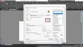 Setting a simple page setup | AutoCAD: Construction Drawings from LinkedIn Learning