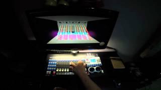 JUN PRO Mini Pearl DMX controller to 3D Pc