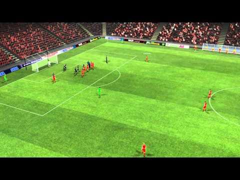 Olympiakos vs Inter - Leonardo Goal 68 minutes